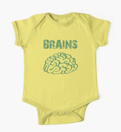 BRAINS by Zombie Ghetto One Piece - Short Sleeve