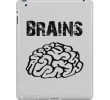 BRAINS by Zombie Ghetto iPad Case/Skin