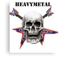 heavy metal  Canvas Print