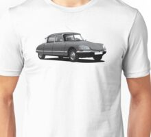 Citroen DS illustration, gray Unisex T-Shirt
