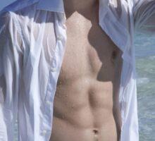 Damon Salvatore Ian Somerhalder Beach Sticker