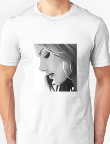 Black and white woman T-Shirt