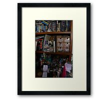 20th November - The day you told me you were scared Framed Print