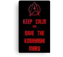 Star Trek Kobayashi Maru Canvas Print