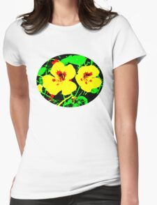 Indian Cress  Womens Fitted T-Shirt