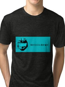 Bow Chicka Bow Wow Tri-blend T-Shirt