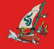 """Cell shaded """"The Wind Waker"""" One Piece - Short Sleeve"""