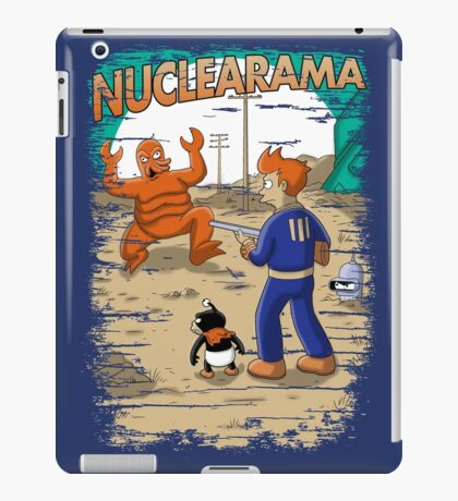 Nuclearama (Andriu & Legendary phoenix) iPad Case/Skin