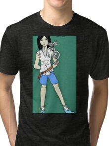 Kenzie & Razor Tri-blend T-Shirt