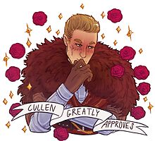 Cullen Approval - Dragon Age by endrae