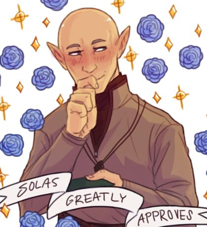 Solas Approval - Dragon Age Sticker