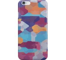 Watercolor pieces iPhone Case/Skin