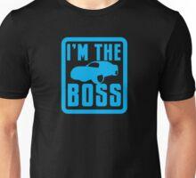 I'm the BOSS with luxury car Unisex T-Shirt