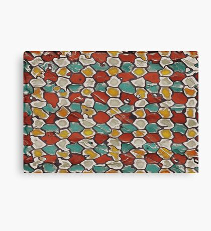 Retro texture Canvas Print