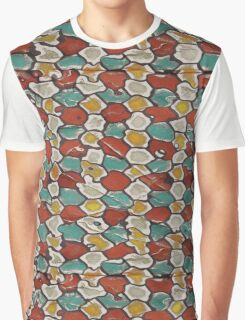 Retro texture Graphic T-Shirt