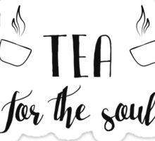 Coffee, Tea, Books Sticker