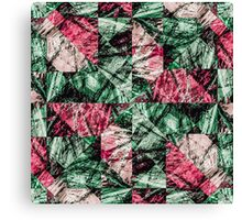 Luxury Grunge Digital Pattern Canvas Print