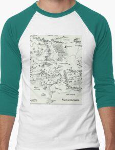Middle Earth Men's Baseball ¾ T-Shirt