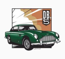 Aston Martin DB5  Kids Tee