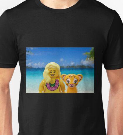 Marilyn Monroe Tiger Unisex T-Shirt