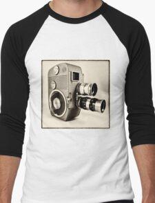 Sankyo Cine  Men's Baseball ¾ T-Shirt