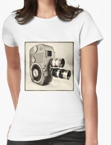 Sankyo Cine  Womens Fitted T-Shirt
