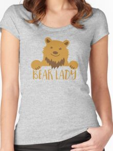 BEAR Lady Women's Fitted Scoop T-Shirt