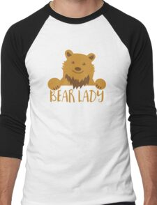 BEAR Lady Men's Baseball ¾ T-Shirt