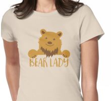 BEAR Lady Womens Fitted T-Shirt
