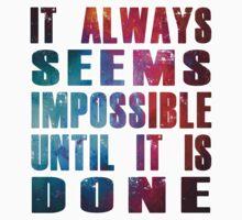 u2 impossible mandela One Piece - Short Sleeve