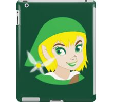 If LINK was really a Princess? iPad Case/Skin