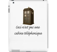 This is not a phone box iPad Case/Skin