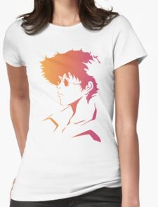 Spike Cowboy Bebop Womens Fitted T-Shirt