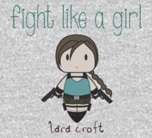 Fight Like a Girl - Tomb Girl Kids Clothes