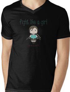 Fight Like a Girl - Tomb Girl Mens V-Neck T-Shirt