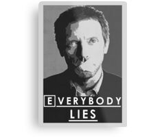 Everybody lies Metal Print