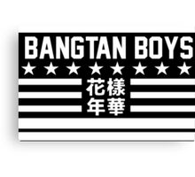 Bangtan Boys - most beautiful moment 1 Canvas Print
