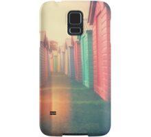 Beach Huts 02D - Retro Samsung Galaxy Case/Skin