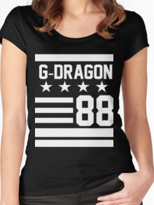 G-DRAGON 88 new Women's Fitted Scoop T-Shirt