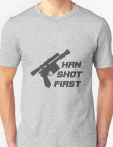The Smuggler Who Shots First Unisex T-Shirt