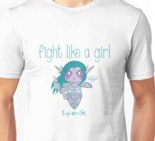 Fight Like a Girl - Elven Priestess Unisex T-Shirt
