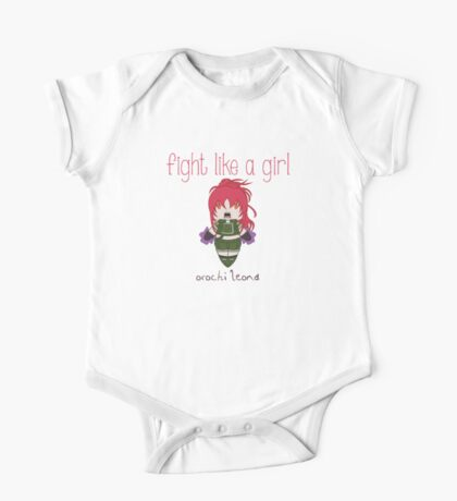 Fight Like a Girl - Blood Fighter One Piece - Short Sleeve