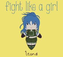 Fight Like a Girl - Fighter Kids Tee