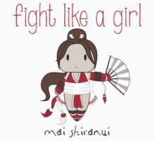 Fight Like a Girl - Cute Fighter Kids Clothes