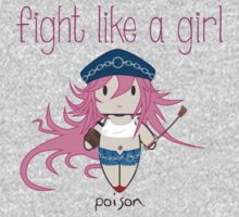 Fight Like a Girl - She Fighter One Piece - Long Sleeve
