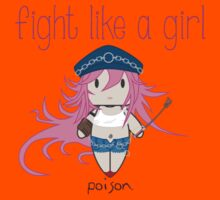 Fight Like a Girl - She Fighter Kids Clothes