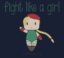 Fight Like a Girl - Fighter for the Queen Kids Tee