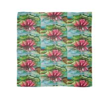 Waterlilies tiled Scarf
