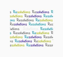 Resolutions Become Solutions Unisex T-Shirt