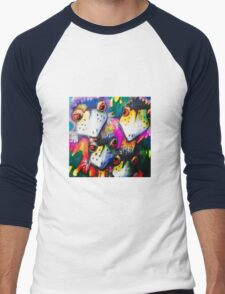 Emu fam Men's Baseball ¾ T-Shirt